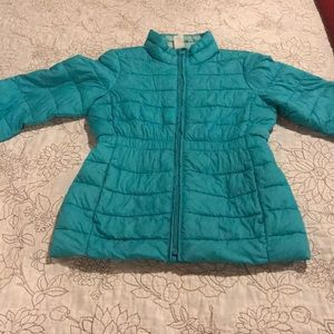 Gap puffy thin jacket for girls size L